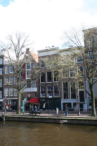 A ház, ahol Anne Frank rejtőzködött