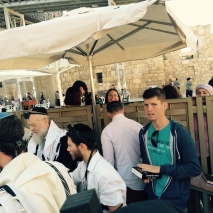 jewish-naming-ceremony-for-4-girls-next-to-the-western-wall