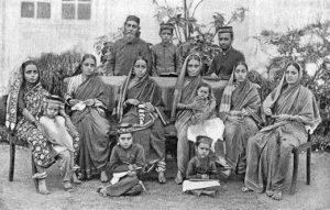 Bene Israel család Mumbaiban, XIX. sz. vége - XX. sz. eleje